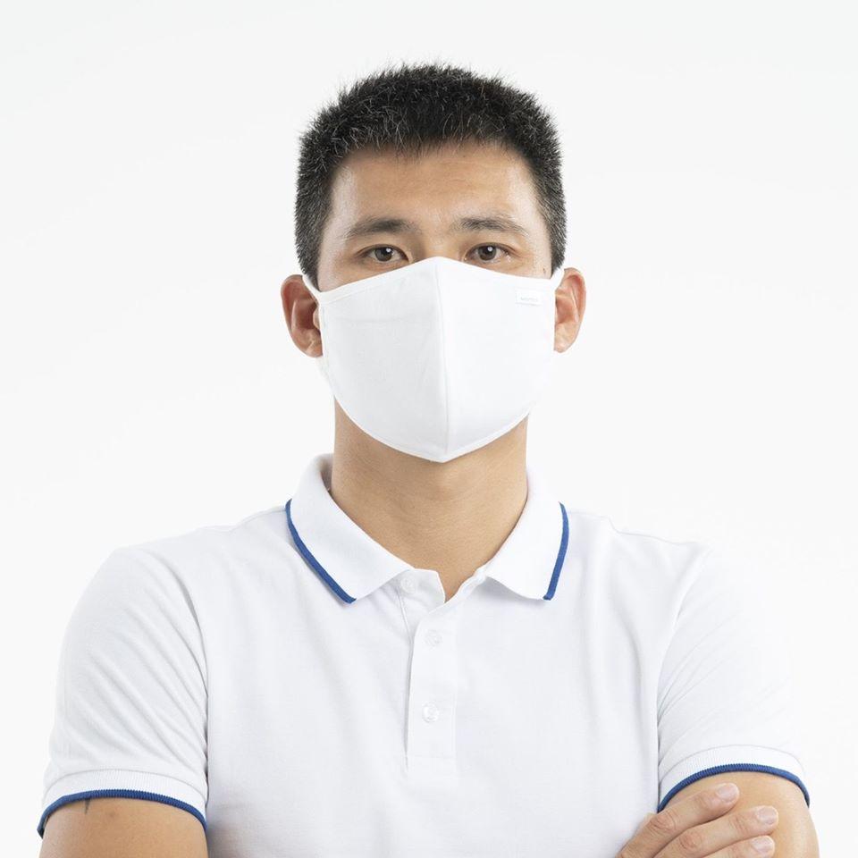 Masques / revêtements antibactériens en tissu lavables et réutilisables