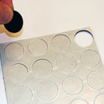 Flexible Magnetic Dots