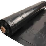Polythene (poly) Sheet Roll Black 4m x 25 500G