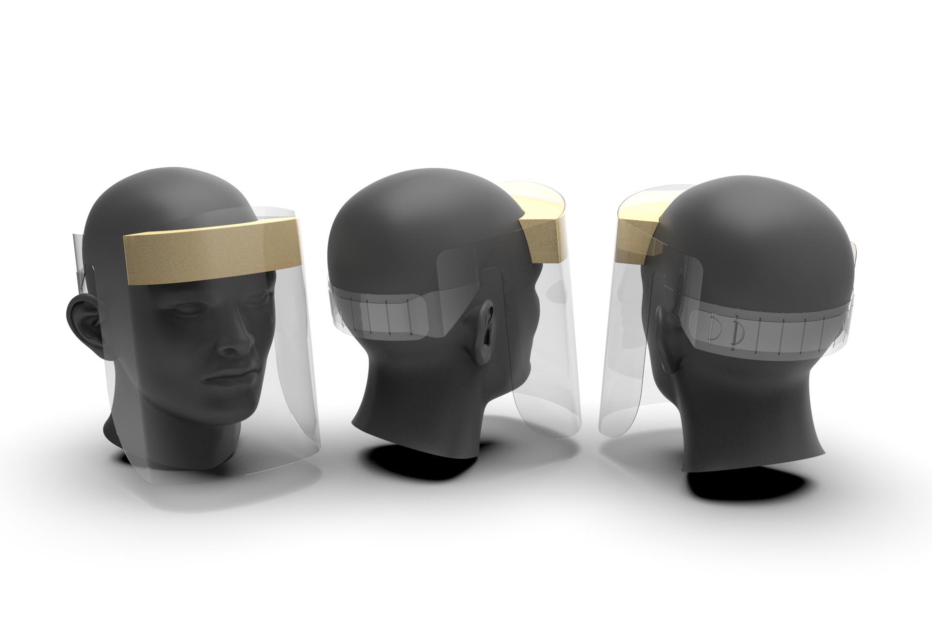 Protective Face Shield Visor V2