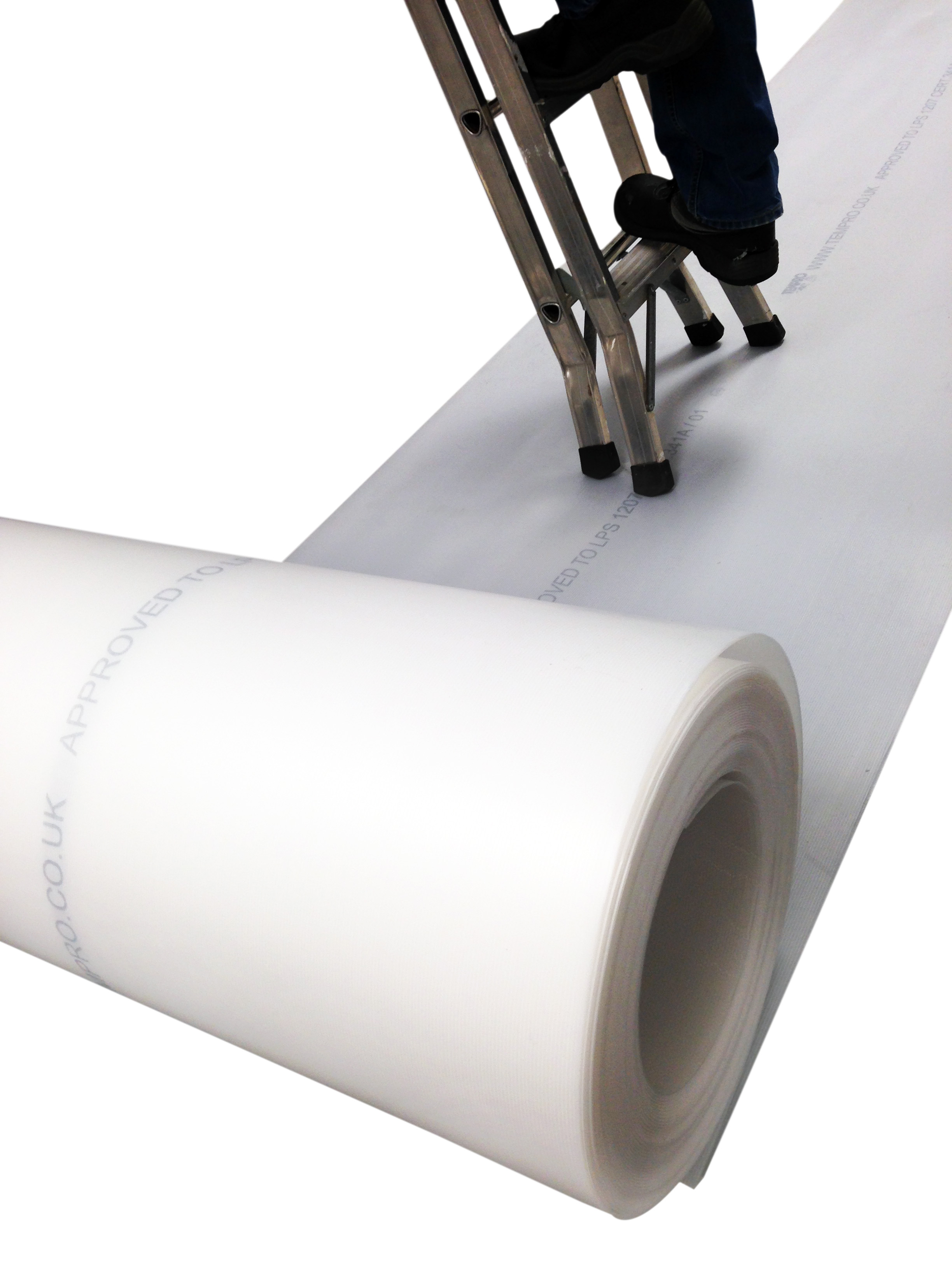 Correx (corex) Corrugated Plastic Roll Floor Protection Fire Retardant (LPS1207) 1M x 50M x 2mm