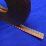 Magnetic Banner Tape Red / Blue 9.5mm x 1.2mm x 30 metres