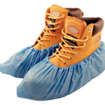 Disposable Polythene Overshoes Blue (1000 Pairs)