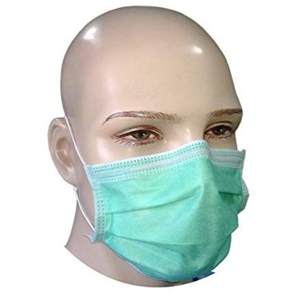 Protective Face Mask 3 Ply (50X) FFP2